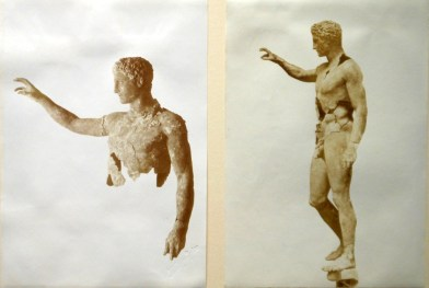 The Youth of Antikythera after its discovery and 1st restoration.