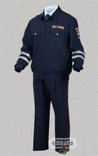 форменная костюм летний дпс