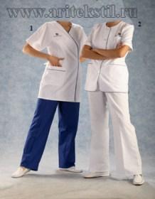 Медицинские халаты-9