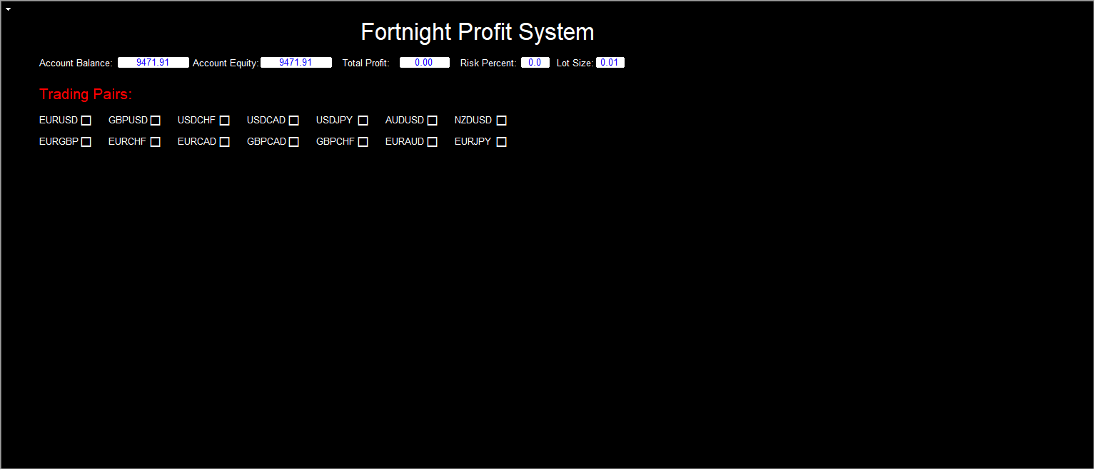 Fortnight Profit System