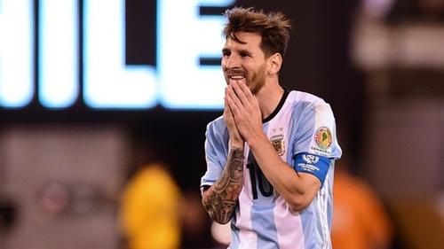 Falha de Messi arrebentou com os argentinos; Chile gahhga mais uma Copa Amética (Foto: globoesporte.globo.com)
