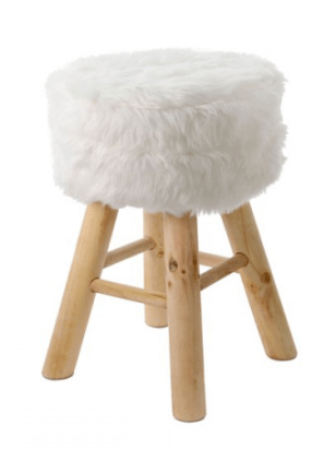 max and melia fluffy faux fur stool christmas wishlist ariverofroses a river of roses blogmas