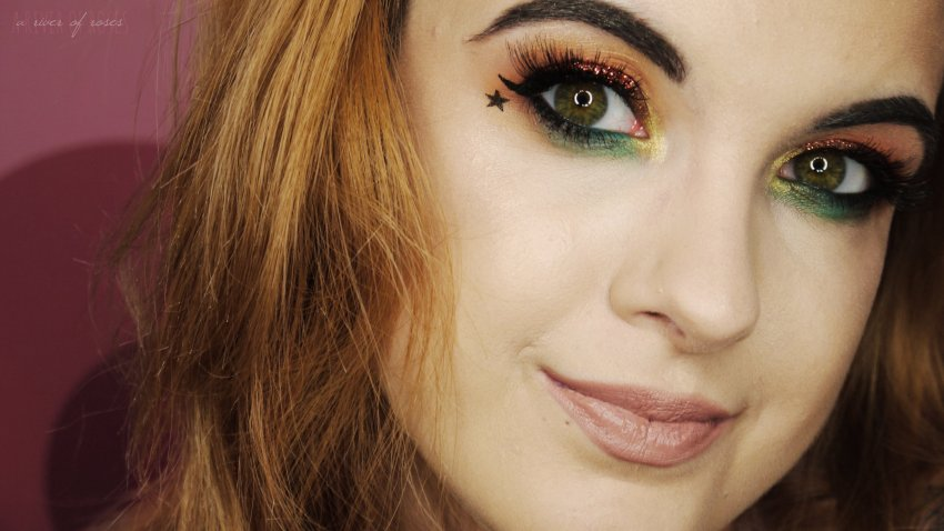 ariverofroses a river of roses emma henry pop of green makeup youtube blog