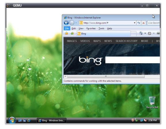 QEMU on Ubuntu to run Windows