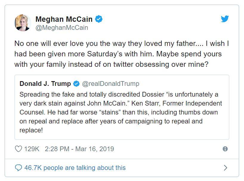 mccain meghan