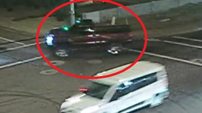 truck involved in hit and run