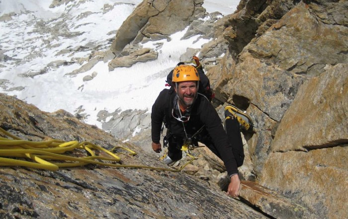 Climbing Icy Peaks at 65 Years Old