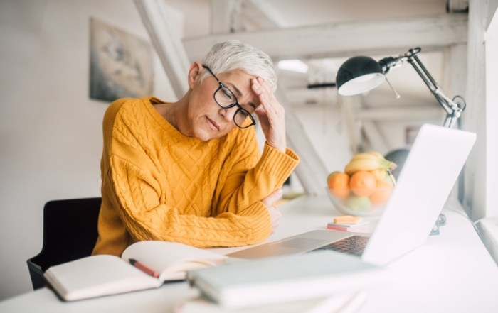 Working from home and elder care