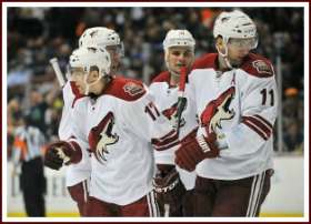 The Phoenix Coyotes Next Five Games