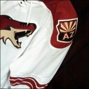 Arizona Coyotes new shoulder patch