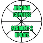Arizona Coyotes:  Segment 2 Update