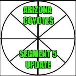 Arizona Coyotes:  Segment 5 Update
