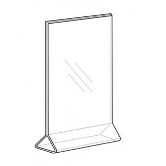 Sign Holder 8.5×11, Top-Load, Vertical