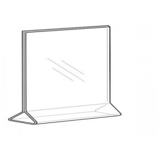 Sign Holder 11×8.5, Top-Load, Horizontal