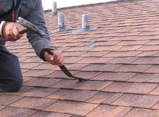 roof repair chandler roof leaks damaged tile shingles foam