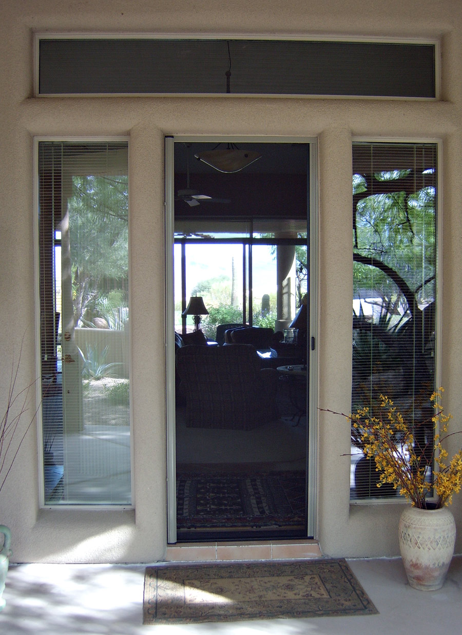Retractable Screen Doors Arizona Sun Screen