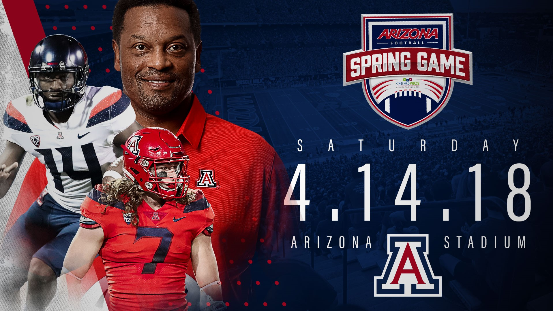2018 Arizona Football Spring Game Presented by OrthoPros