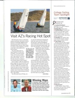 AYC featured in Sailing World magazine.
