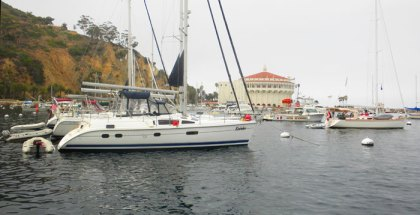 Avalon harbor on Catalina Island, a great charter destination. Photo: Ralph Vatalaro