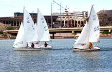 Strong wind pushed the High School Championship to seven races.