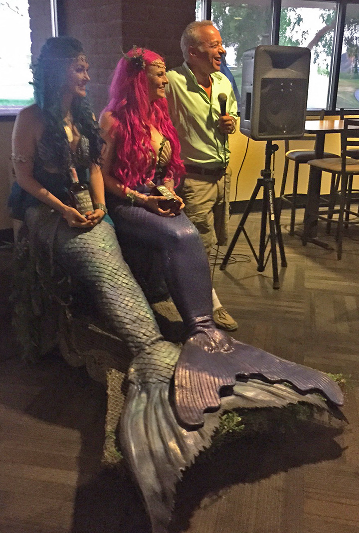 Rescued mermaids, AYC rum, and the smiling conspirator Victor Felice