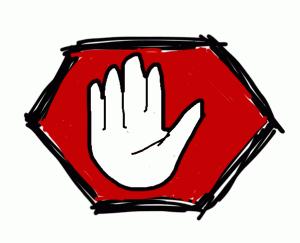 opgestoken hand: PIKE! (copyright Arjan Zuidhof)
