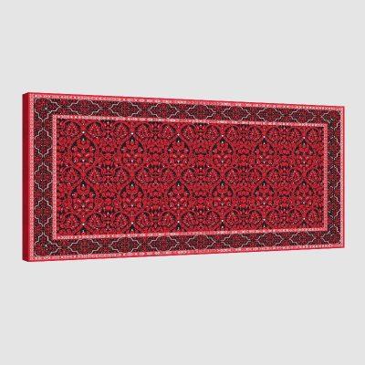 Tableau oriental tapis-rouge