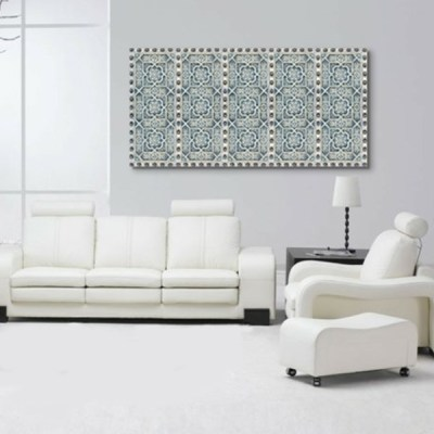Tableau oriental motif metal