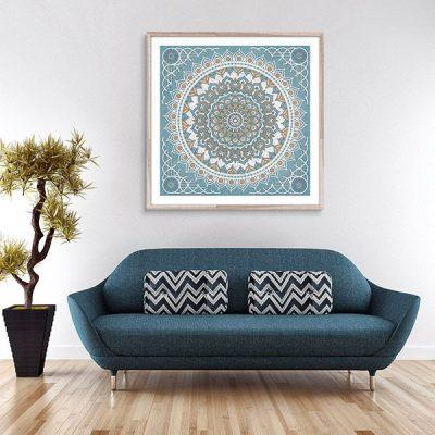 Poster oriental tapis perse