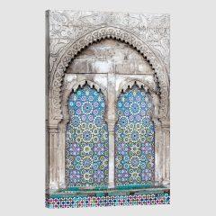 Tableau arabe mosaïque moderne