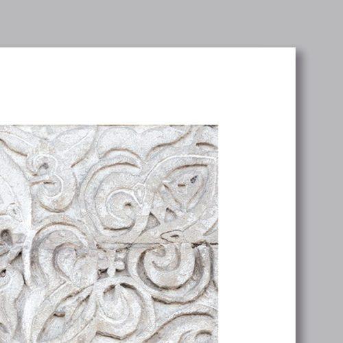 Poster oriental mosaique moderne-detail