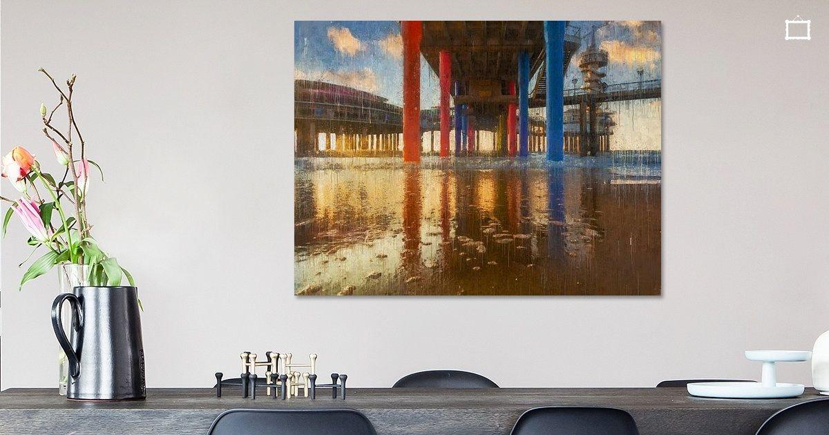 Onder de Geschilderde Scheveningse Pier