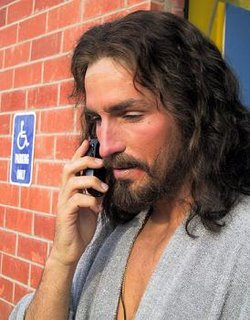 Jesus cell phone