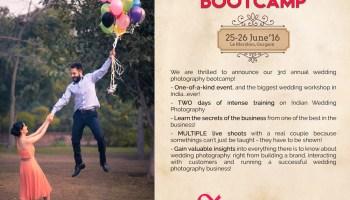 Wedding Photography Bootcamp 2016 New Delhi
