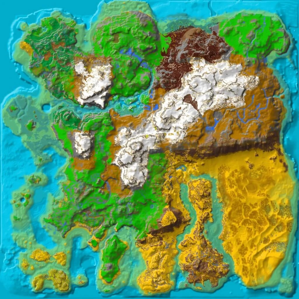 Ark Lava Cave Map The Island