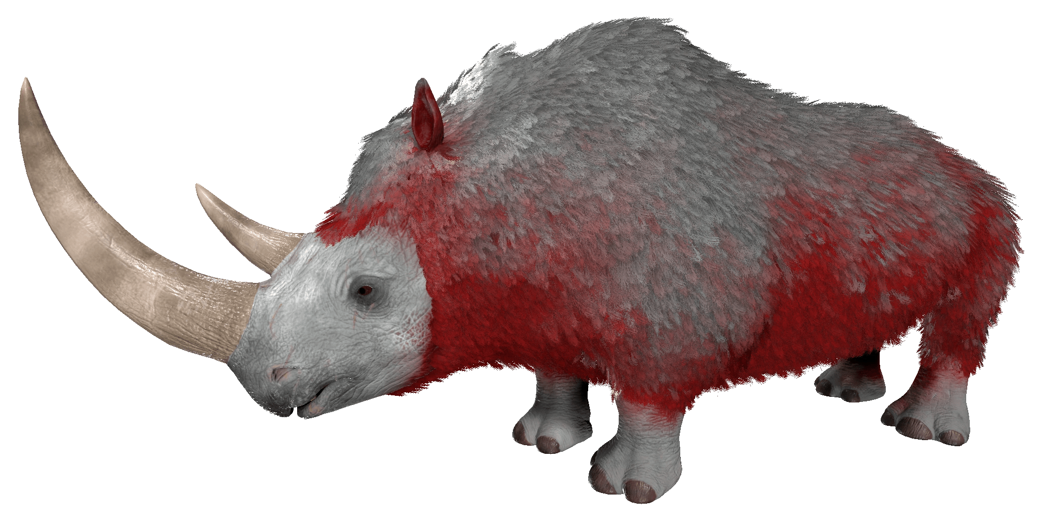 Woolly Rhino Official ARK Survival Evolved Wiki
