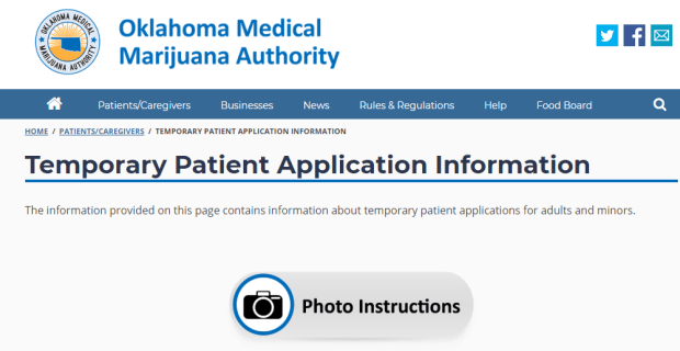 Becoming A Temporary Patient In Oklahoma.