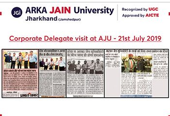 Corporate Delegat visit at AJU_350x255