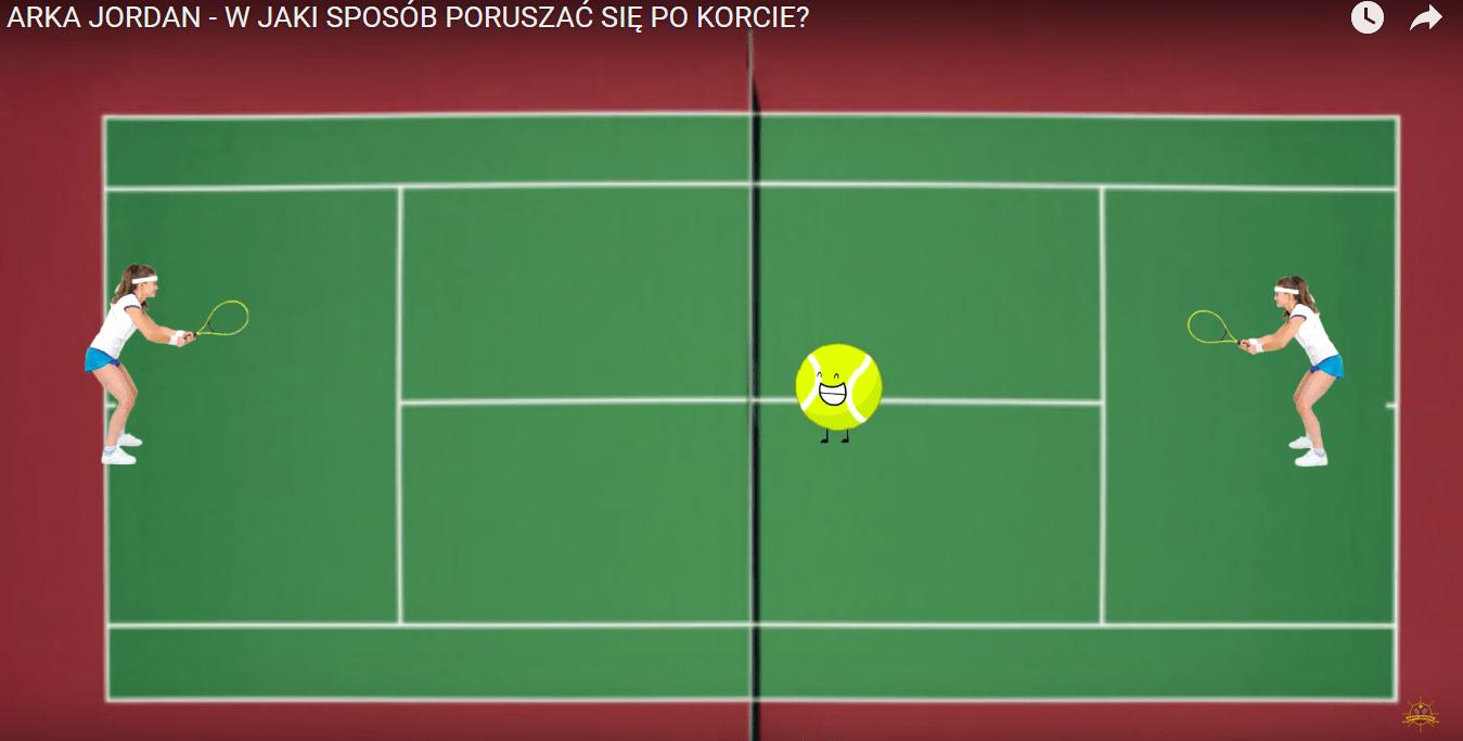 Jak poruszać się po korcie tenisowym?