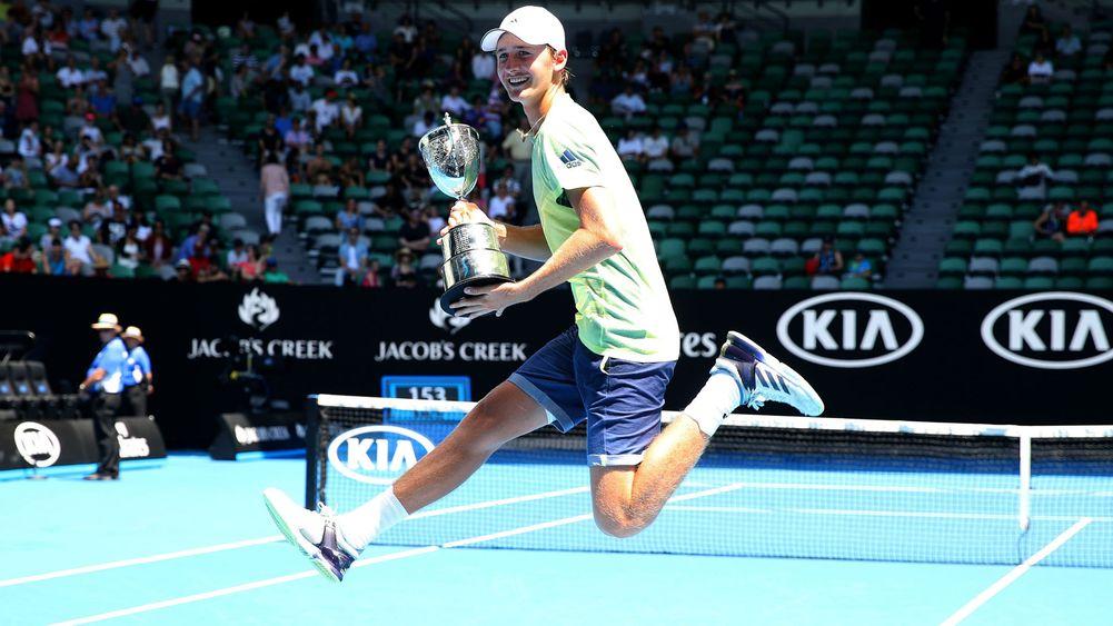 Historyczny debiut mistrza juniorskiego Australian Open w tourze