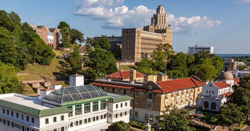 Hot Springs Arkansas Army-Navy Hospital and bath houses