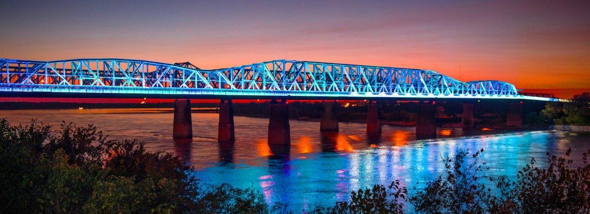 Harahan Big River bridge