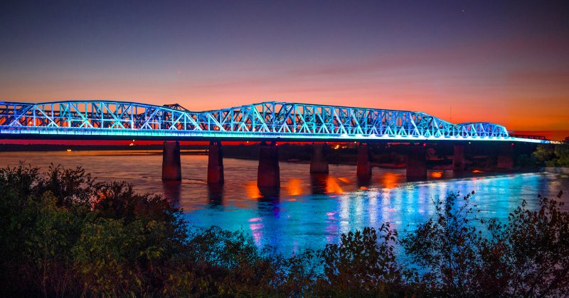 Harahan Big River bridge