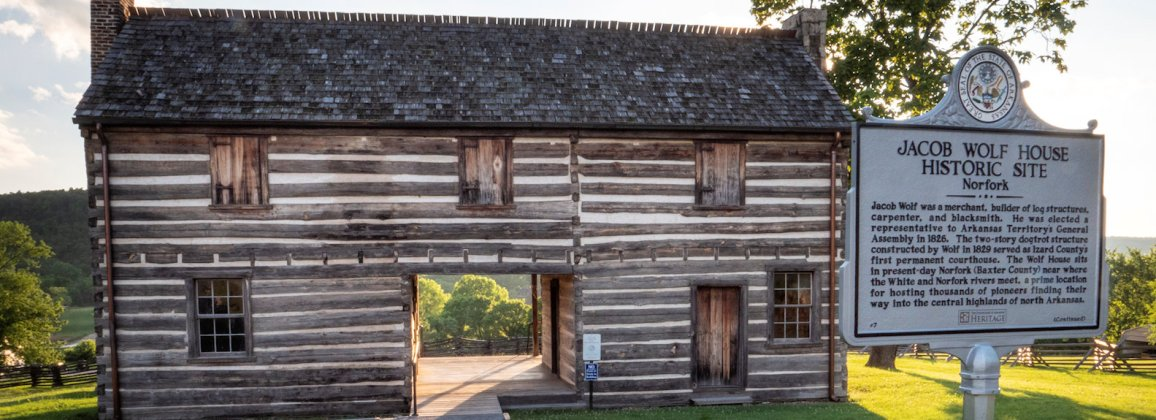 Jacob Wolf House Norfork Arkansas