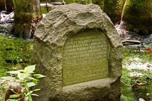 Louisiana Purchase DAR Stone Marker