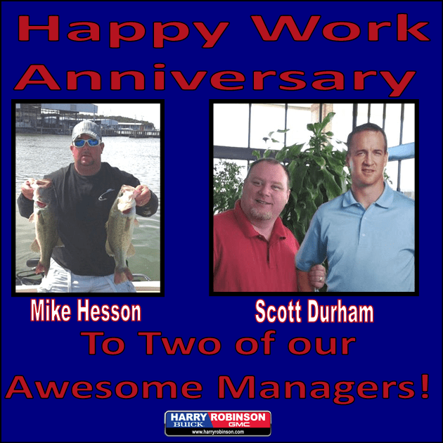 Scott & Mike!