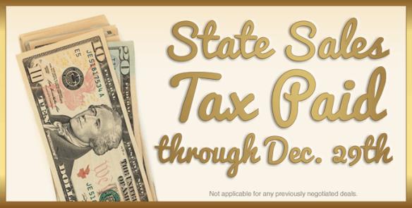 sales tax paid