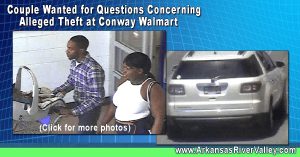 Police Seek Woman for Questions Concerning Alleged Theft at Conway Walmart
