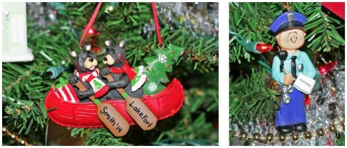 2014 ornaments - Police Officer Christmas Decorations