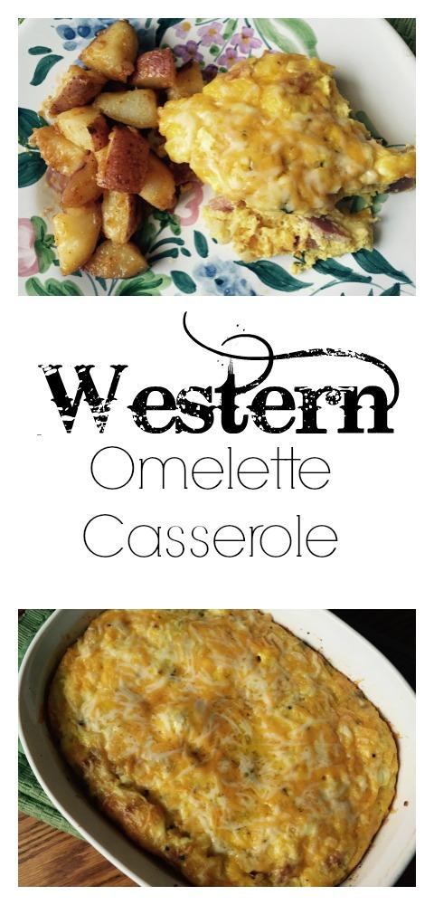Western Omelette Casserole